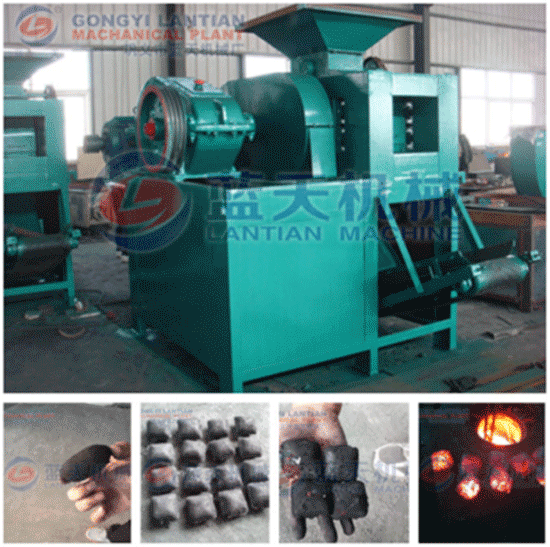 The Brief Introduction And Main Features Of Charcoal Powder Briquette Machine