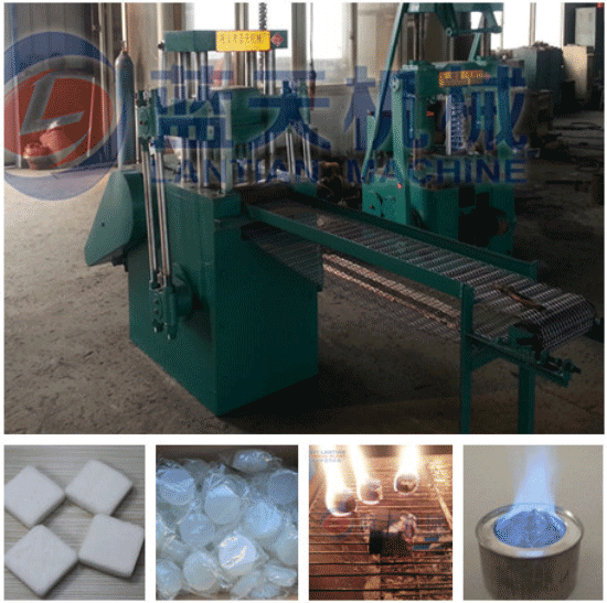 Solid alcohol tablet press machine
