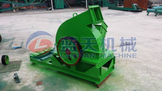 Straw crusher machine