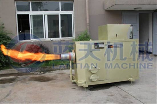Particle combustion machine